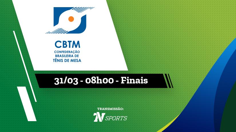 Finais Copa Brasil de Tênis de Mesa