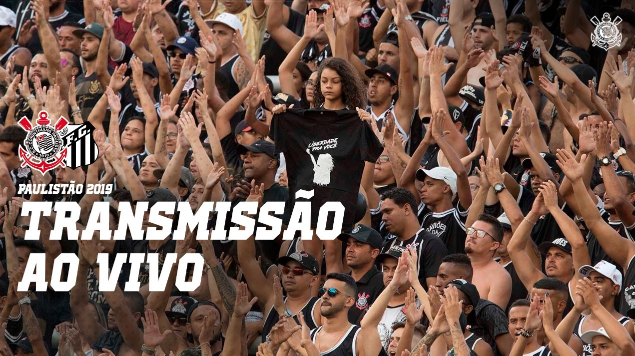 Narração Corinthians vs Santos