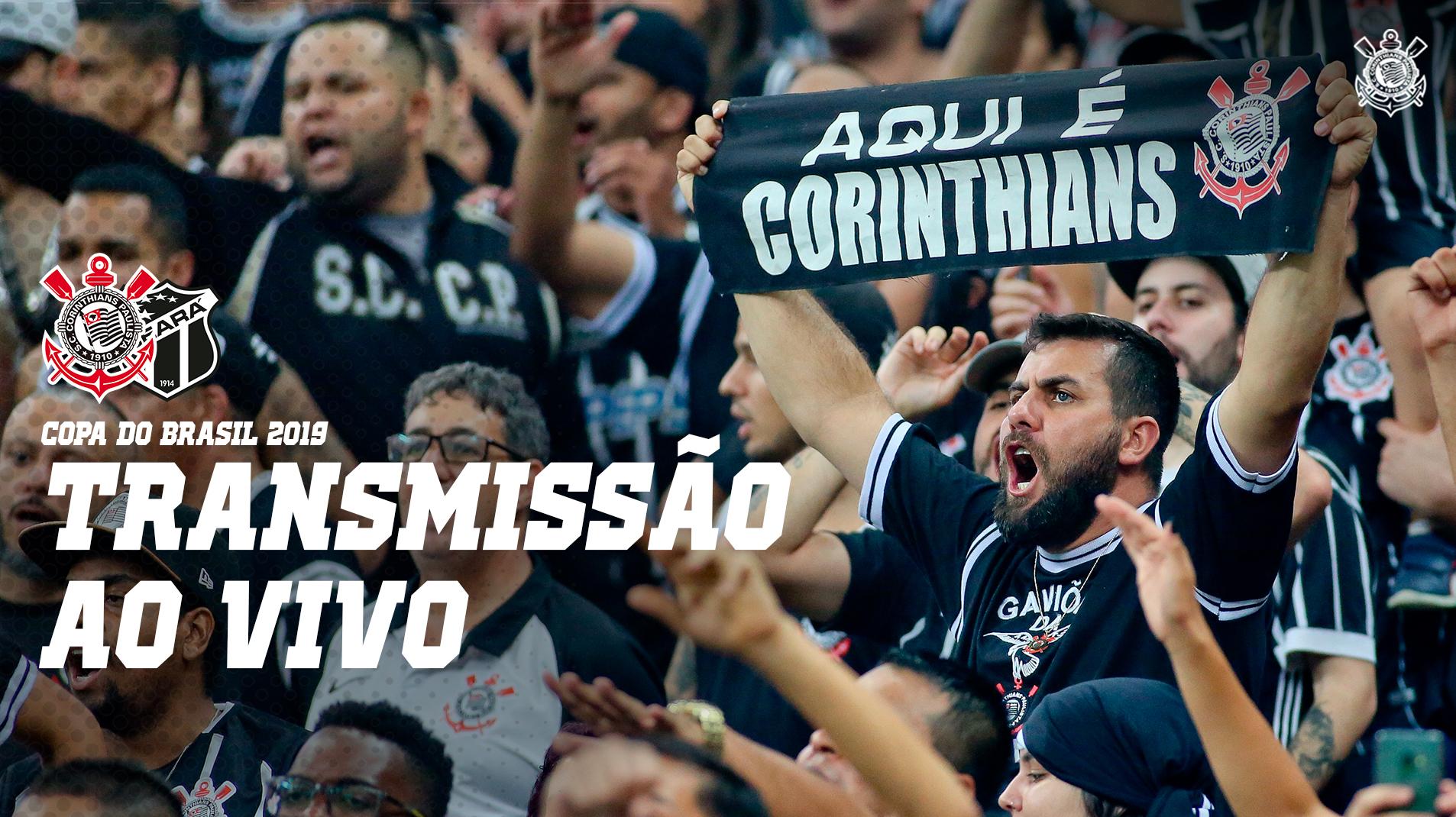 Corinthians Ao Vivo Narracao Corinthians X Ceara Copa Do Brasil 2019