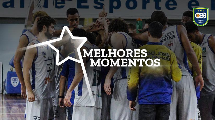 Melhores momentos São José dos Pinhais vs Araraquara