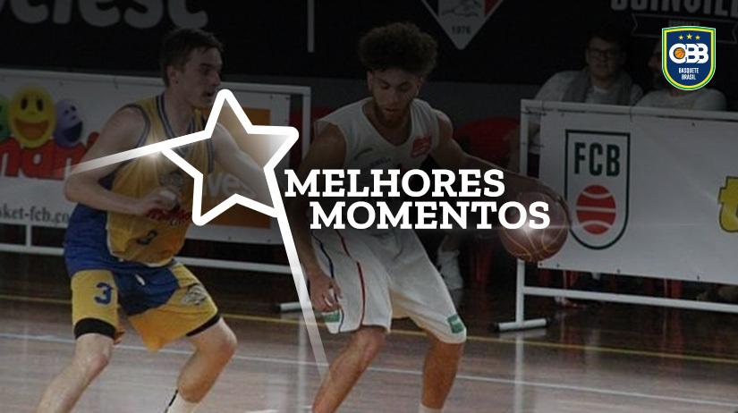 Melhores momentos Brusque/FME/Aradefe/Trimania vs UNIFAE/São João da Boa Vista