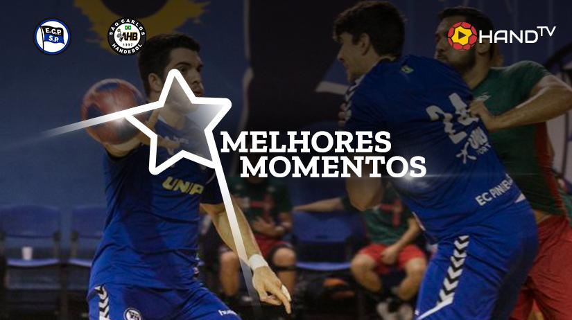 Melhores momentos E.C.Pinheiros vs São Carlos