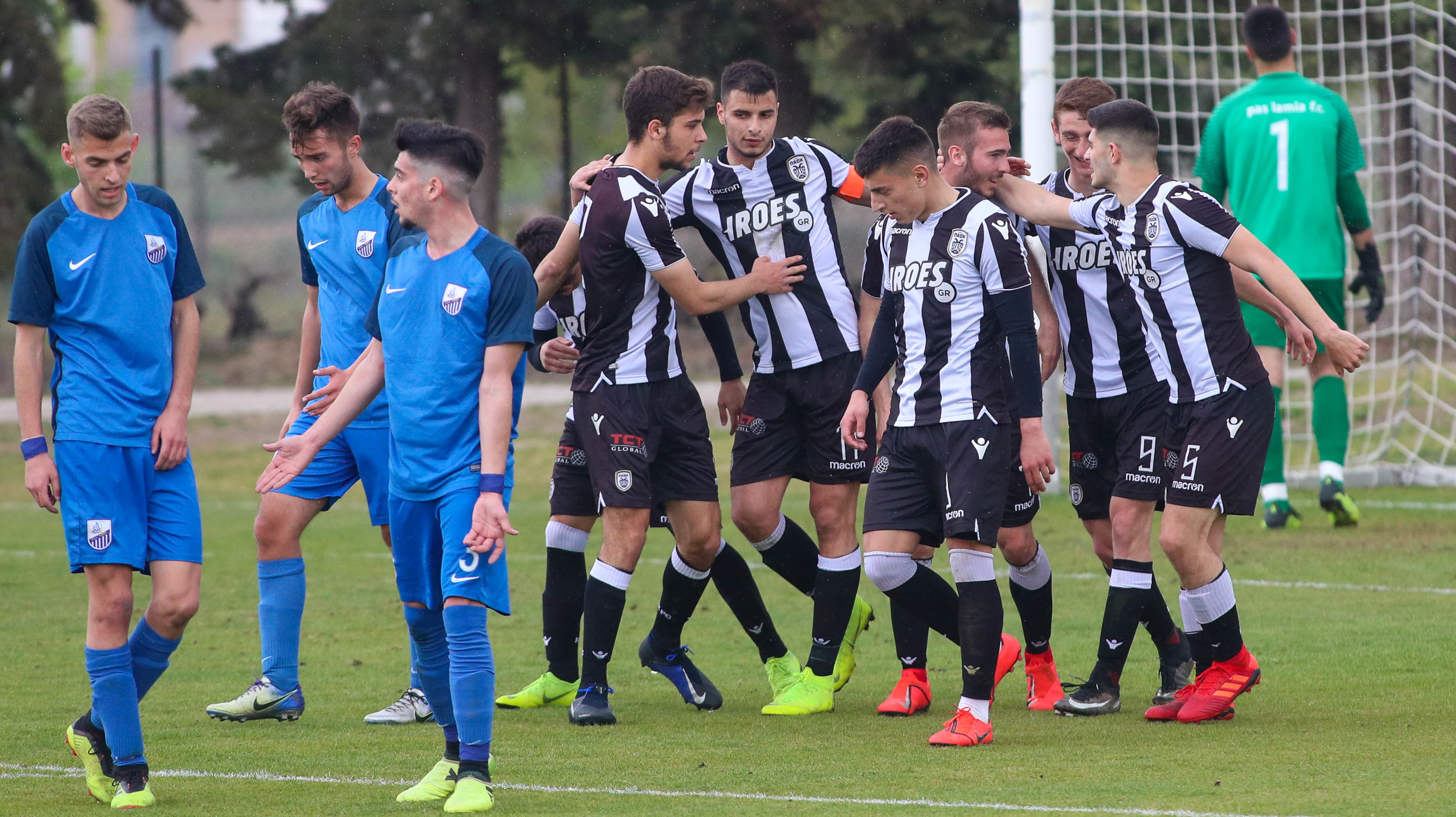 PAOK U19 – Lamia U19: Highlights