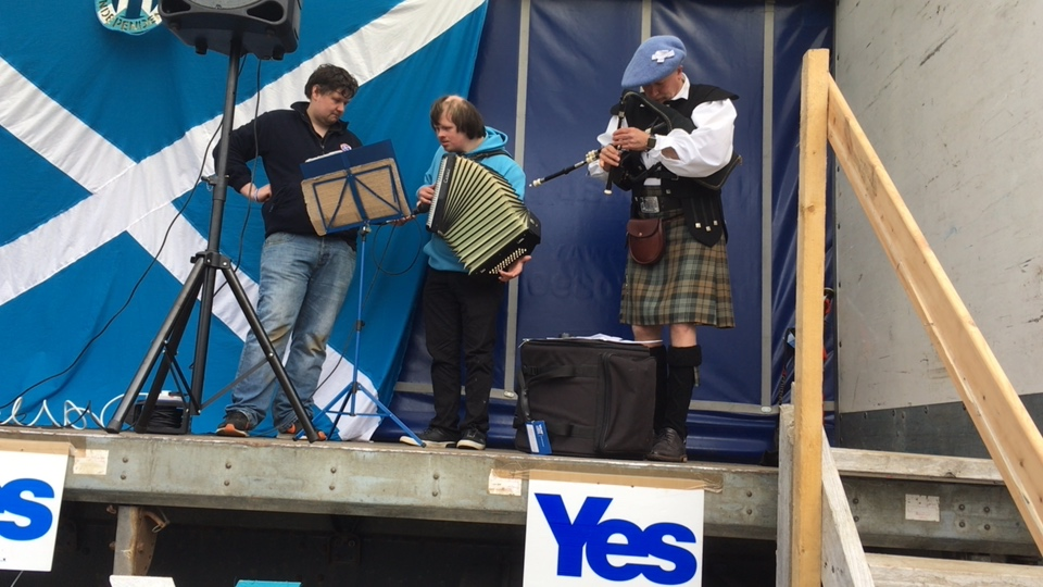 Outer Hebrides for Independence - March and Rally in Stornoway, Lewis