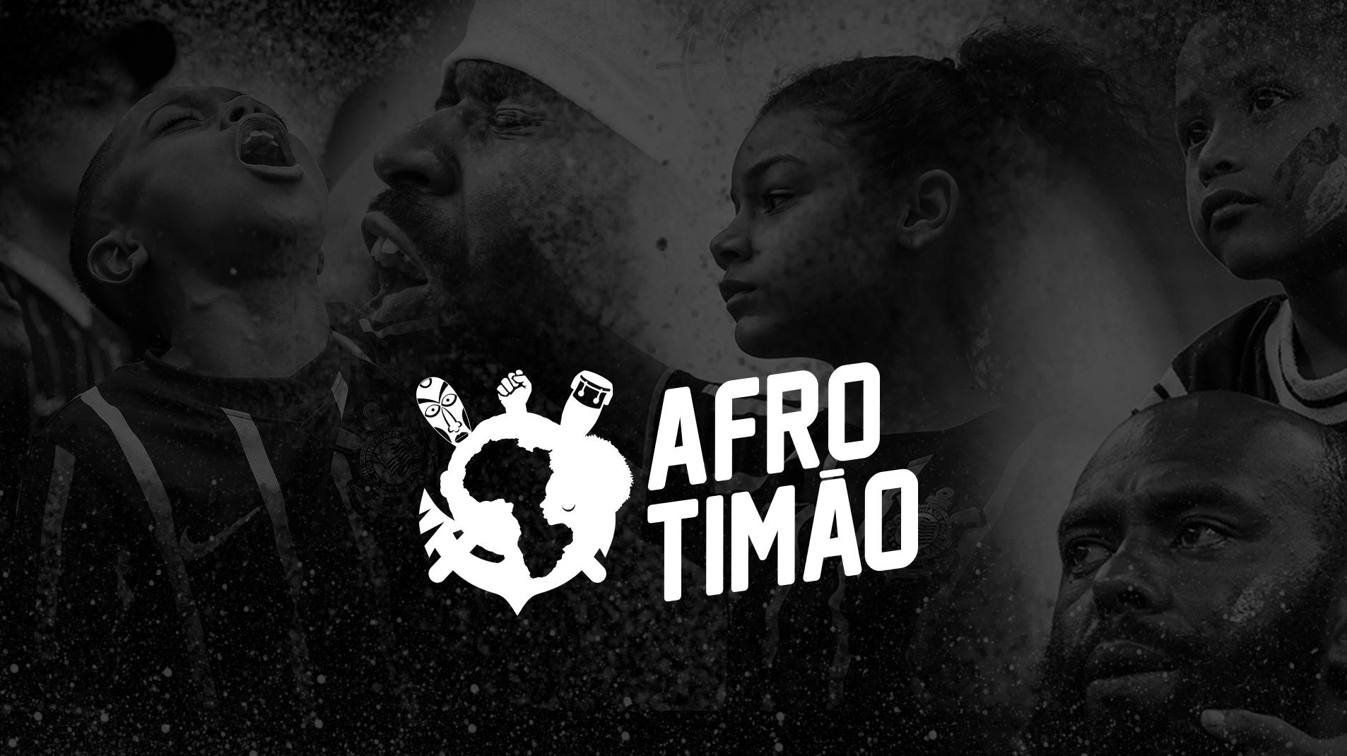 Afro Timão com a jornalista Claudia Alexandre