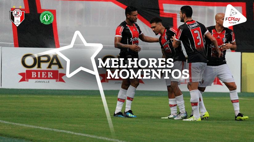 Melhores momentos de Joinville x Chapecoense