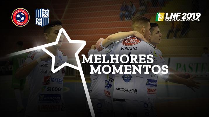 Melhores momentos Joaçaba vs Minas