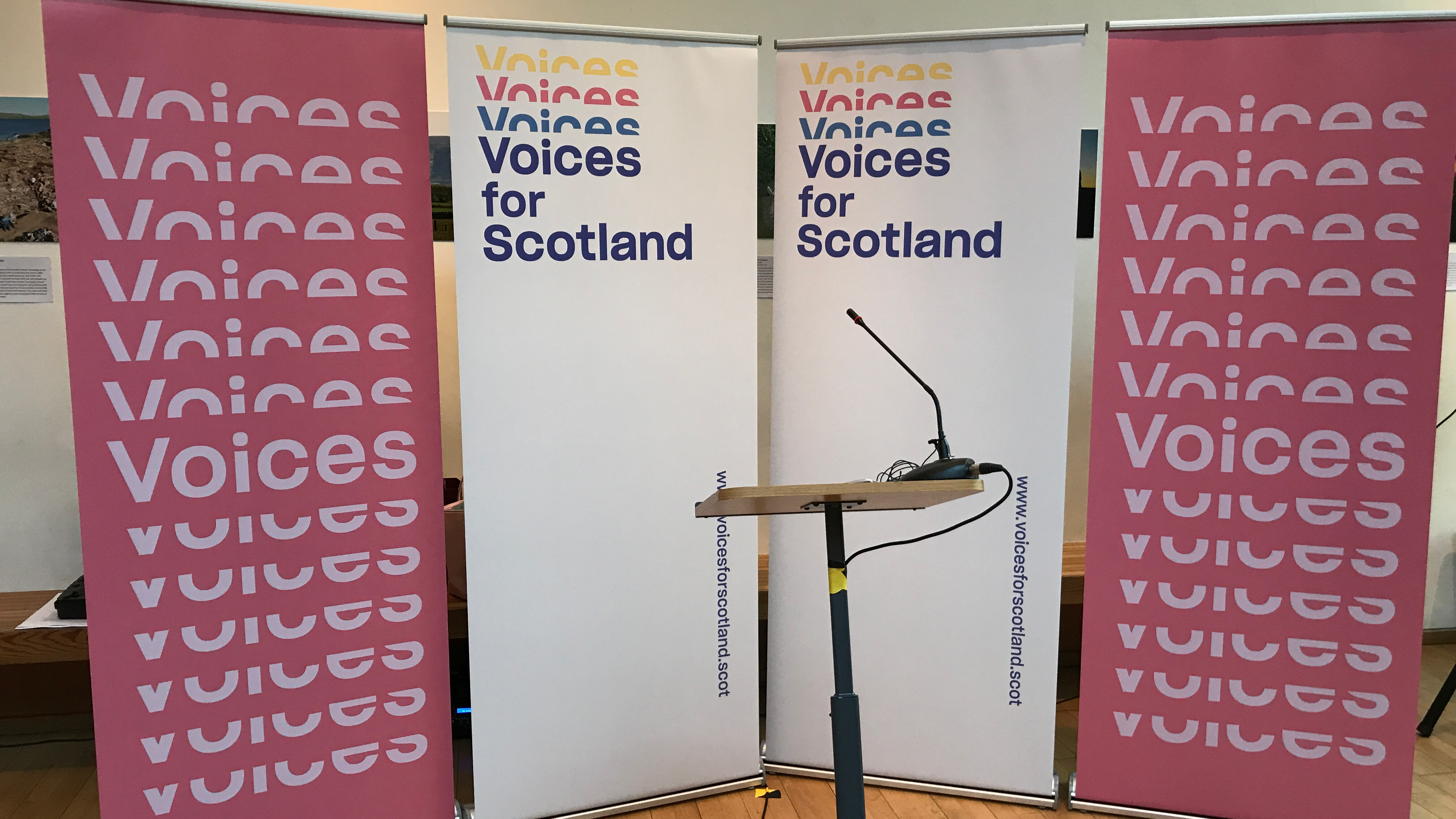 Voices For Scotland Launch