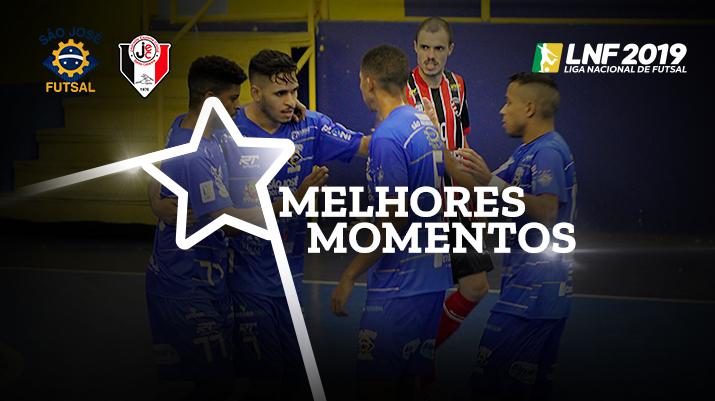 Melhores momentos São José Futsal vs Joinville