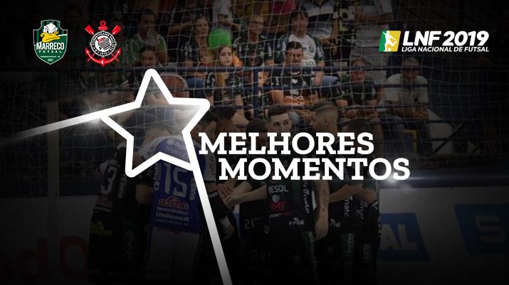 Melhores momentos Marreco vs Corinthians