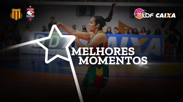 Melhores momentos Sampaio Basquete vs Vera Cruz Campinas