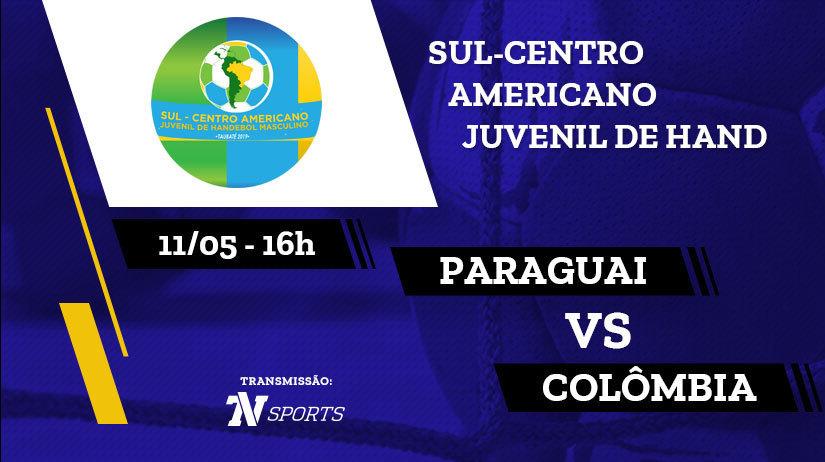 Paraguai vs Colômbia