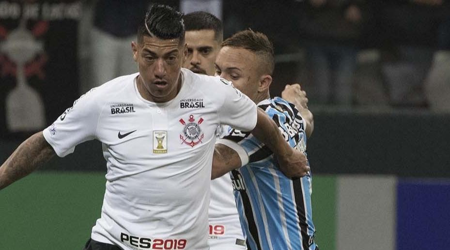 Narração ao vivo - Corinthians vs Grêmio