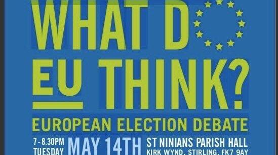 Election Hustings, EU Elections, Stirling