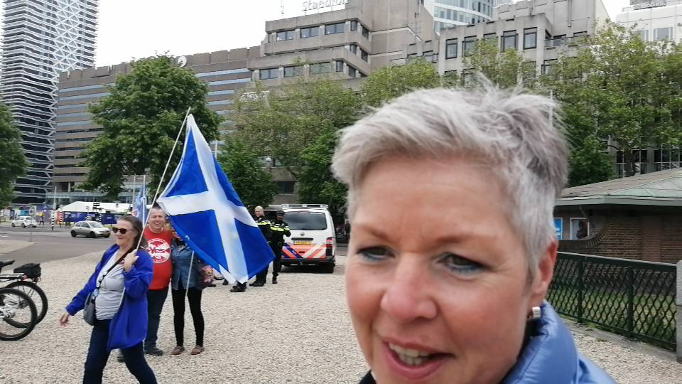 Netherlands for Scottish Independence March & Rally
