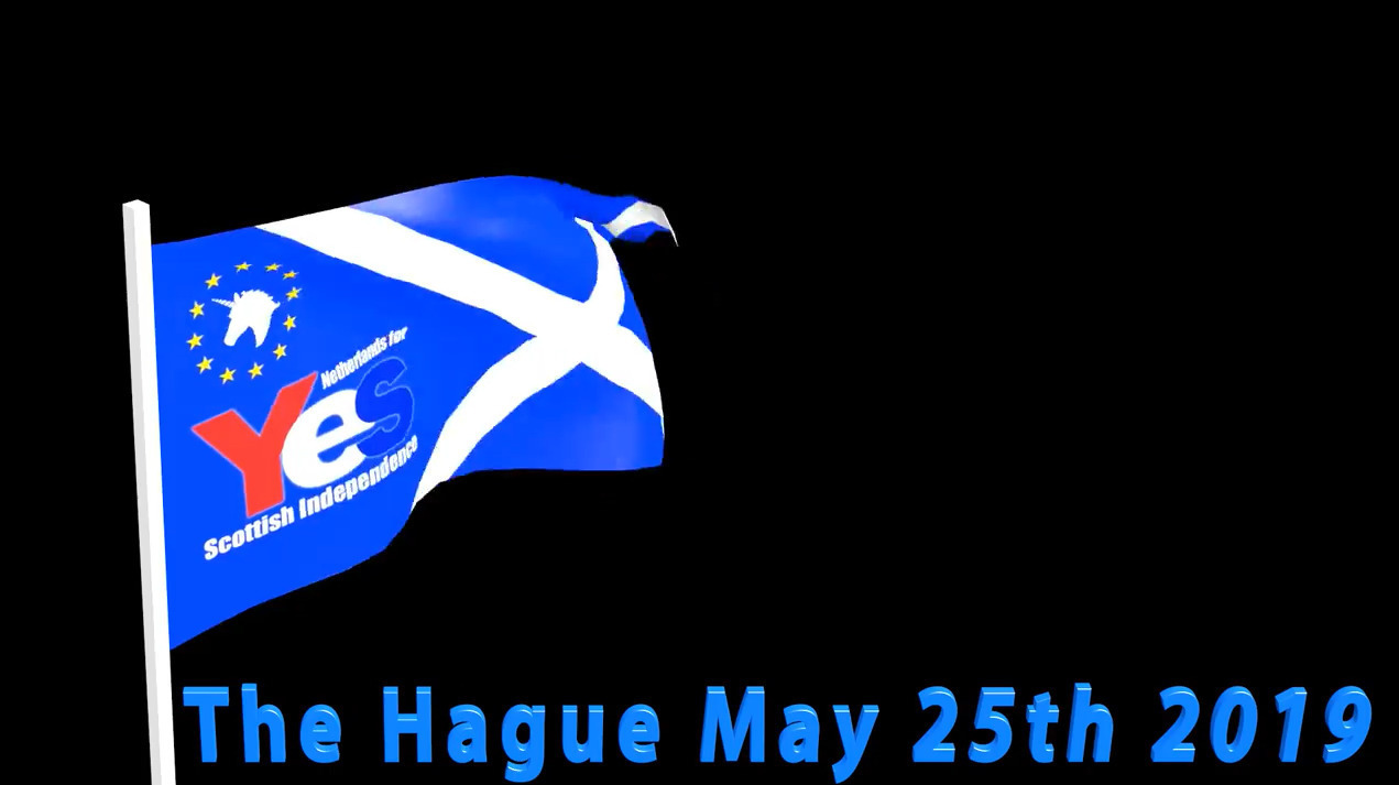 Netherlands for March & Rally for Scottish Independence