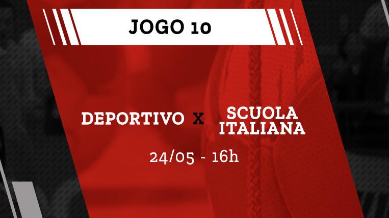 Deportivo vs Scuola Italiana