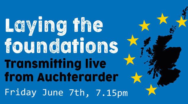 Laying The Foundation #ScotlandsFuture