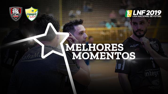 Melhores momentos Campo Mourão vs Copagril