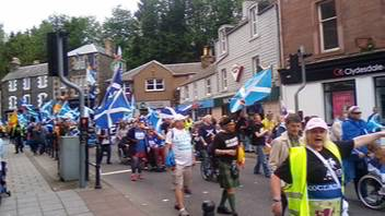 #AUOBGalashiels - Cam1 (front of march)
