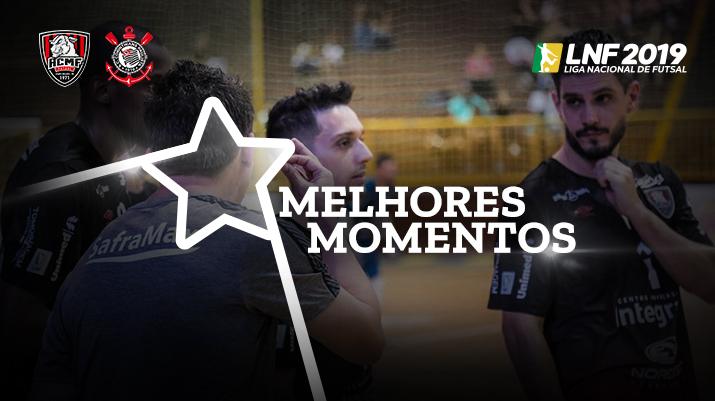 Melhores momentos Campo Mourão vs Corinthians