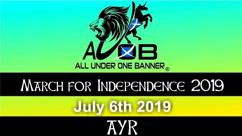 #AUOBAyr Cam 1 (Front of March)