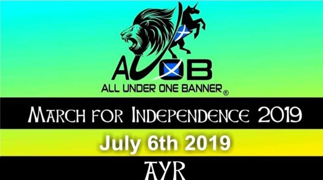 #AUOBAyr Cam 1A (Front of March#1A)