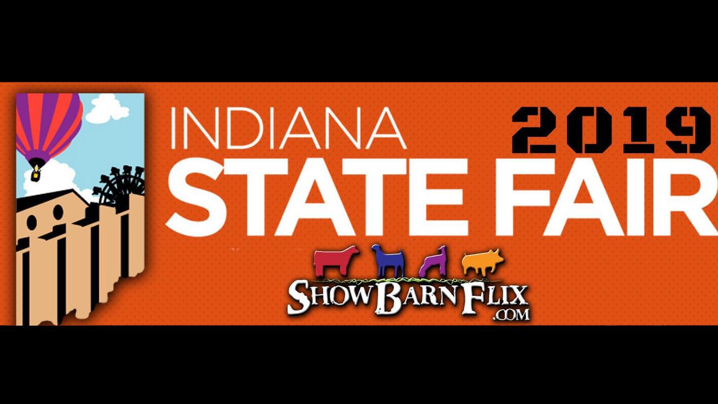 2019 Indiana State Fair Crossbred Pig Sale! on Livestream