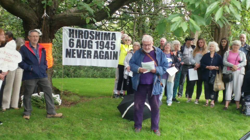 SCND Hiroshima Day Anniversary