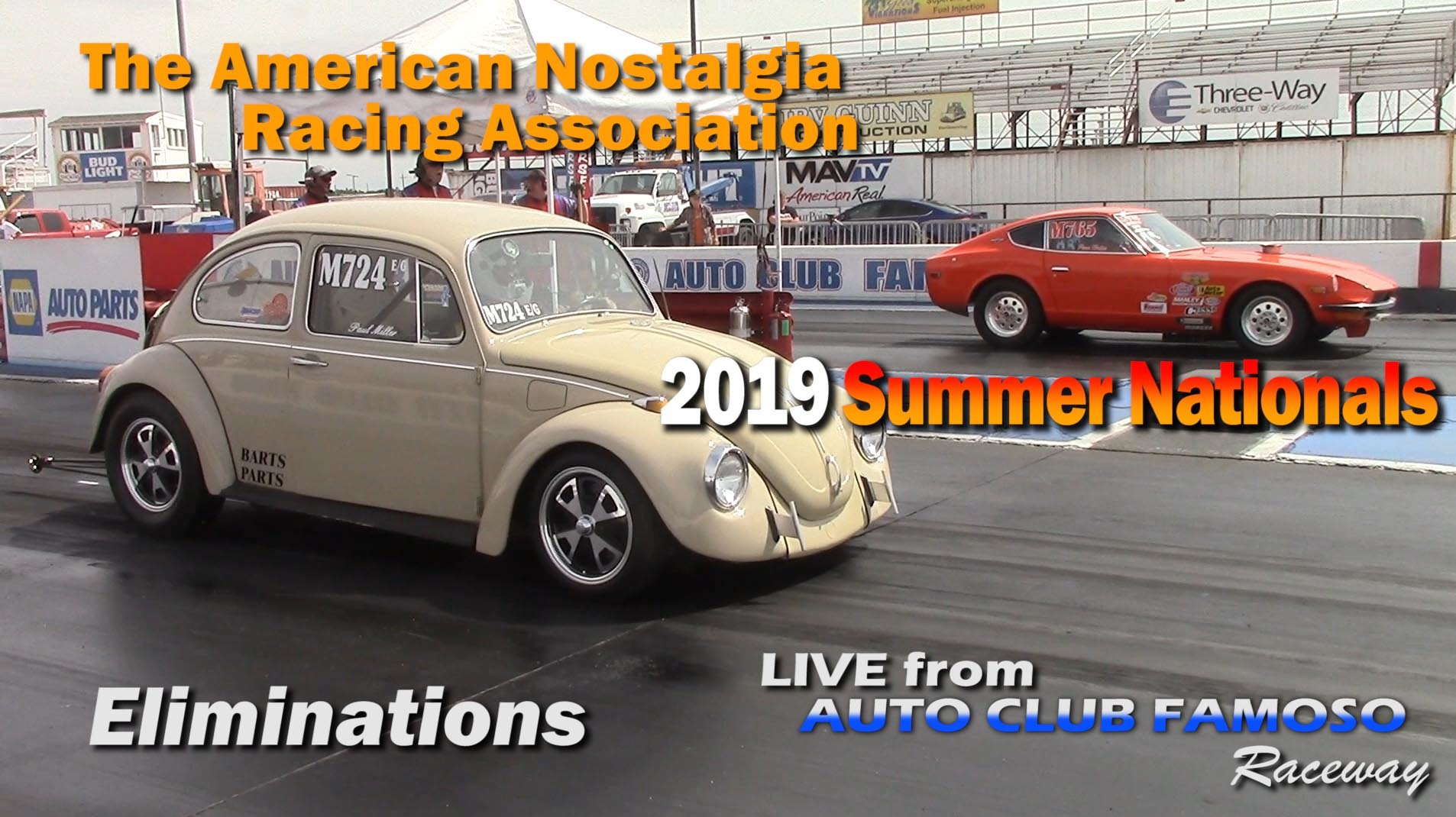 ANRA 2019 Summer Nationals Eliminations on Livestream