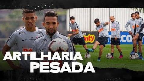 Treino do Corinthians