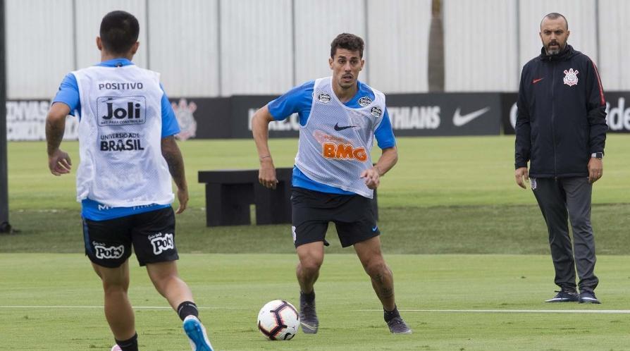 Jogo-treino do Corinthians
