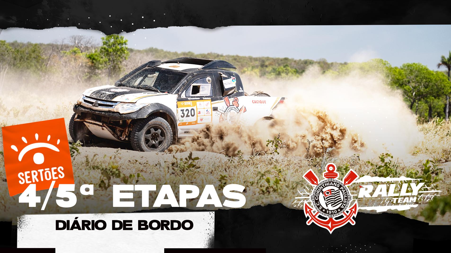 Timão no Rally dos Sertões - 4ª e 5ª Etapas