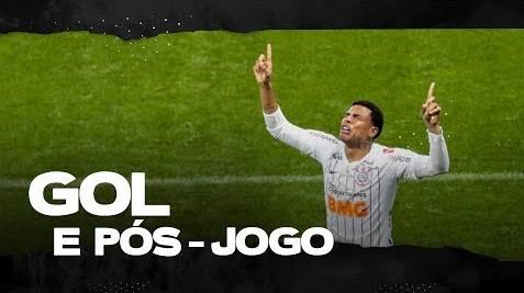 Corinthians vs Atlético-MG: Gol de Gustavo