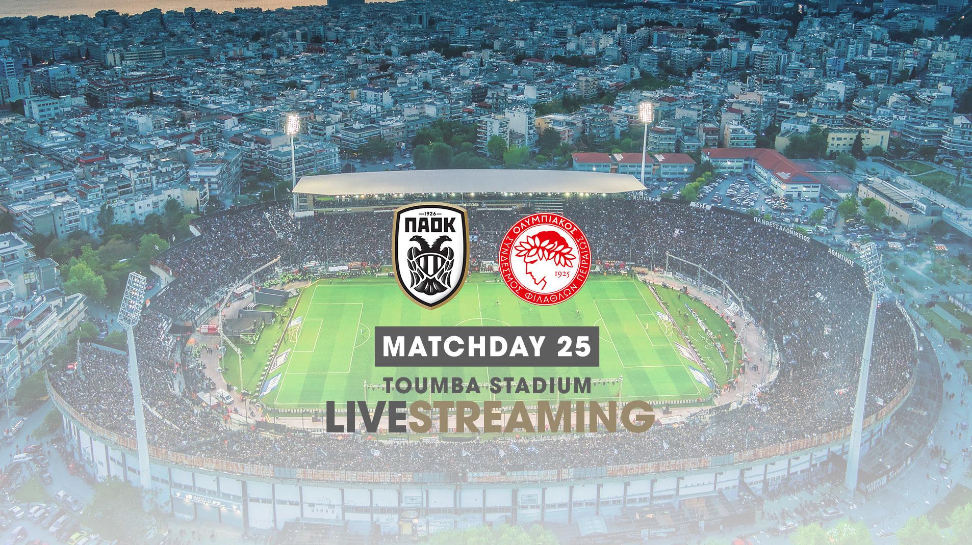 PAOK-Olympiakos [live]