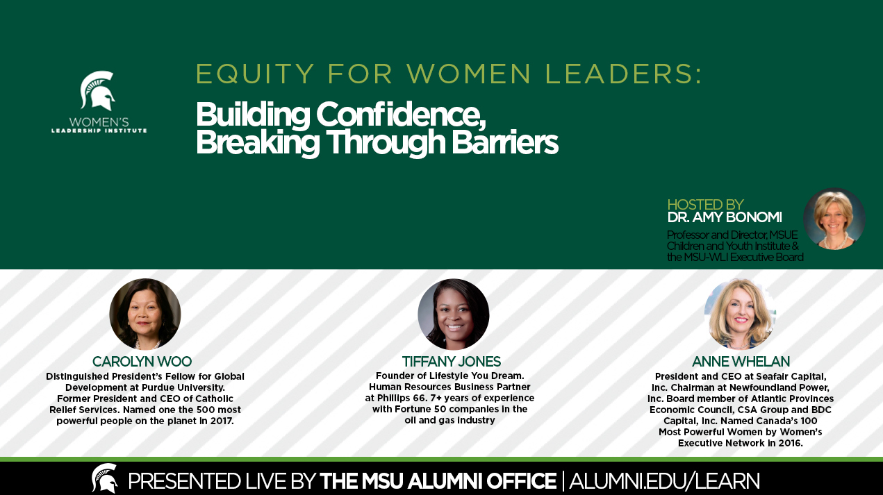 livestream cover image for Equity for Women Leaders | Building Confidence, Breaking Through Barriers