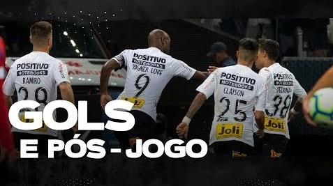 Gols: Corinthians 2 x 1 Bahia