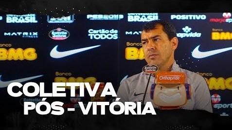 Coletiva: Fábio Carille - Corinthians 2 x 1 Bahia