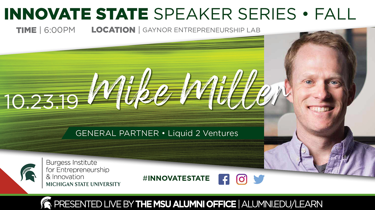 livestream cover image for Innovate State | Mike Miller