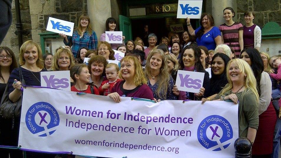 How to win support from women for Scottish independence