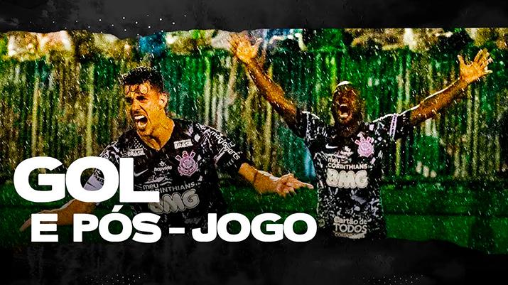 Gol: Chapecoense 0 x 1 Corinthians