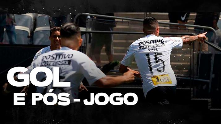 Gols: Corinthians 1 x 0 Vasco