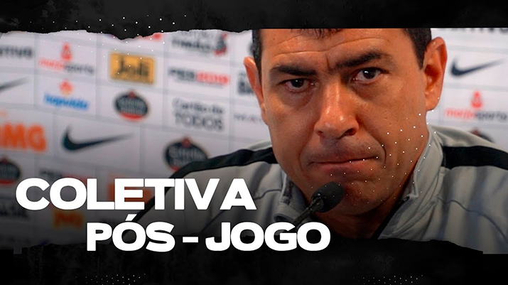 Coletiva de Fábio Carille - Grêmio 0 x 0 Corinthians