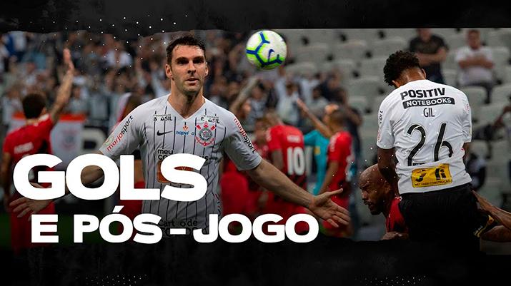 Gols: Corinthians 2 x 2 Athletico-PR