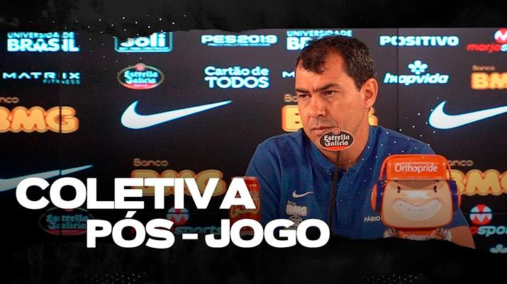 Coletiva de Fábio Carille - Corinthians 2 x 2 Athletico-PR
