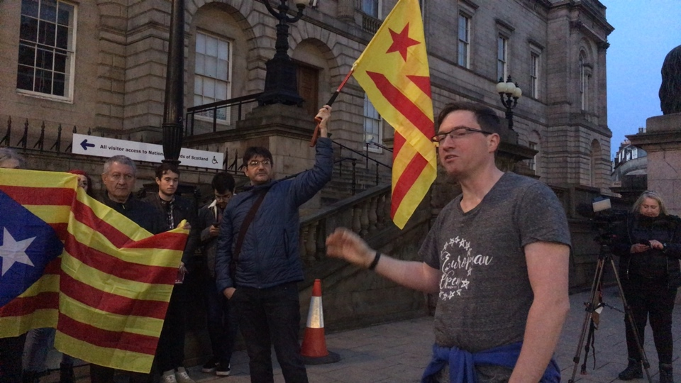 (Edinburgh) Rally for Catalonia after sentencing of political prisoners