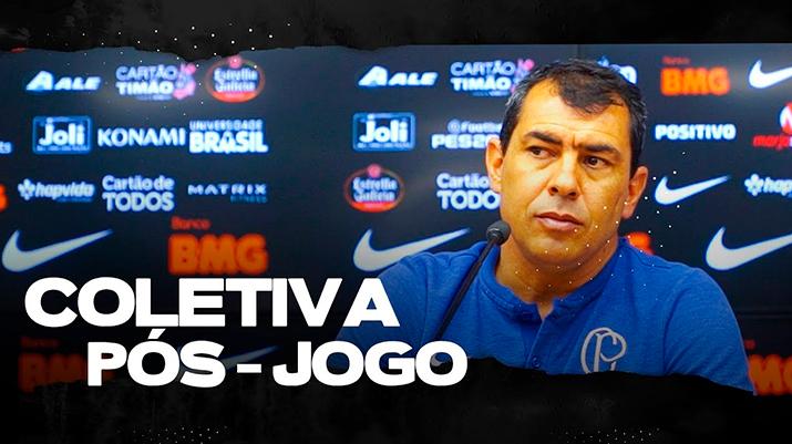 Coletiva de Fábio Carille - São Paulo 1 x 0 Corinthians