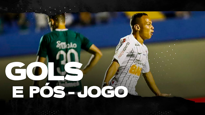 Gols: Goiás 2 x 2 Corinthians