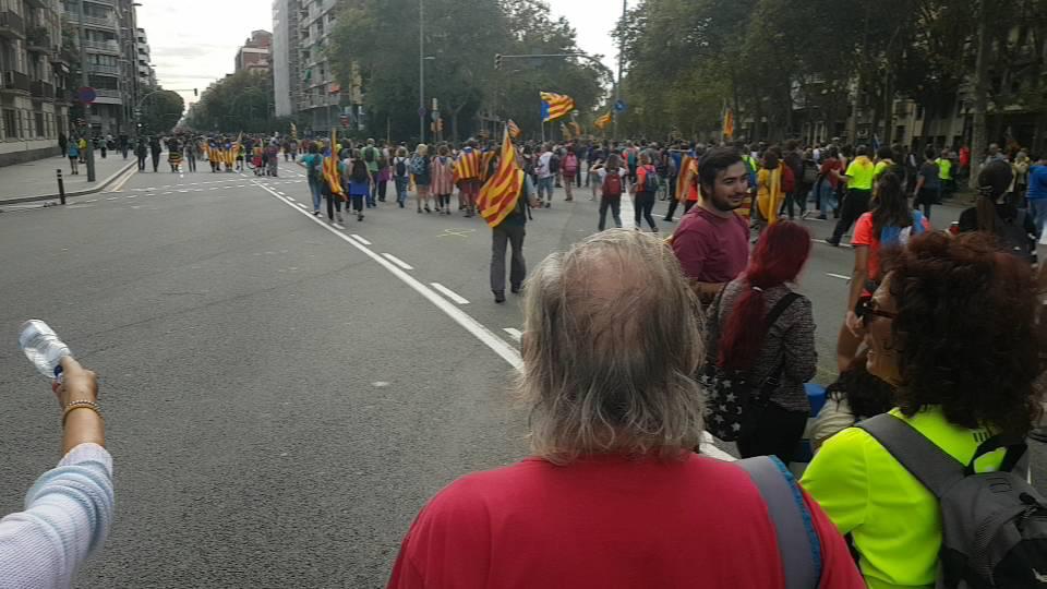 March to Barcelona Contra la sentència INDEPENDENCIA #TsunamiDémocratic