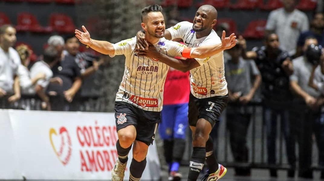 Copa do Brasil de Futsal: Corinthians x Marreco - Semifinal - Ida